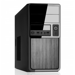 CASE CLASS MINI TOWER mATX 500W USB3 BRUSHED EFFECT