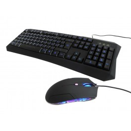 ITEK GAMING BUNDLE SCORPION GHOST - TASTIERA RETROILLUMINATA E MOUSE 2000DPI